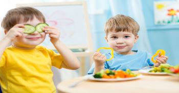 بهترین رژیم غذایی برای کودکان چاق و لاغر